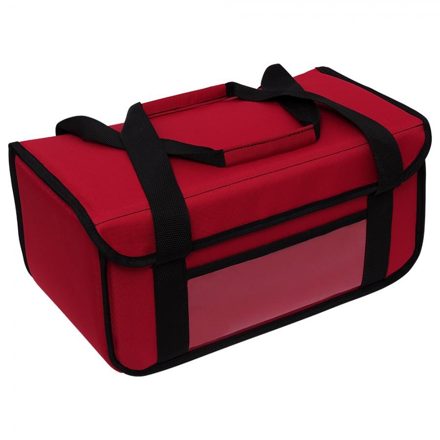 Ισοθερμική Τσάντα Delivery - Θερμόσακος Μεταφοράς Καφέ 8+3 Θέσεων (20lt) Κόκκινος Ισοθερμικές Τσάντες Delivery