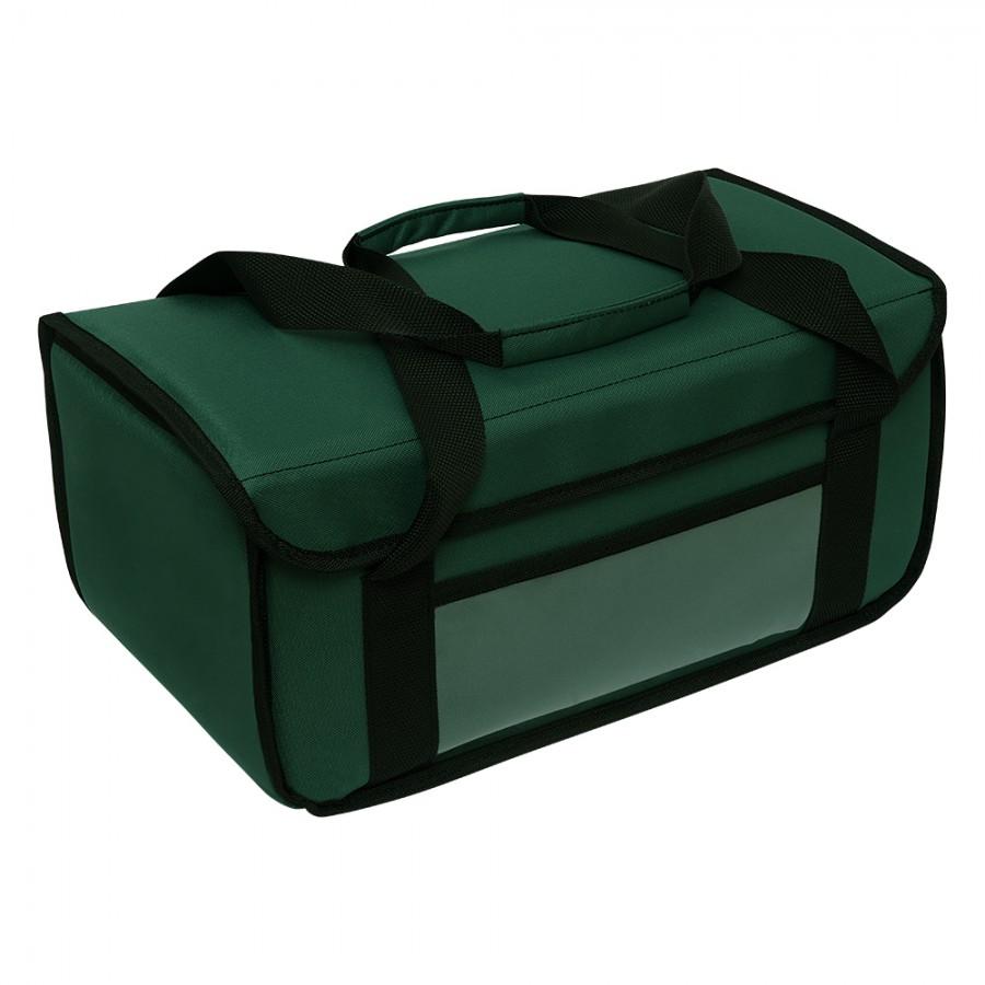 Ισοθερμική Τσάντα Delivery - Θερμόσακος Μεταφοράς Φαγητού L (20lt) Πράσινος Ισοθερμικές Τσάντες Delivery